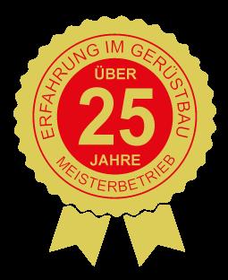 25 Jahre Erfahrung